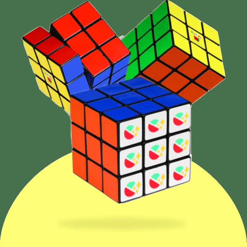 Wall Tattoo Retro Dots Sticker Cubes Retrocubes Colour Motif Choice